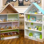 Wooden Dollhouse Bookcase Plans
