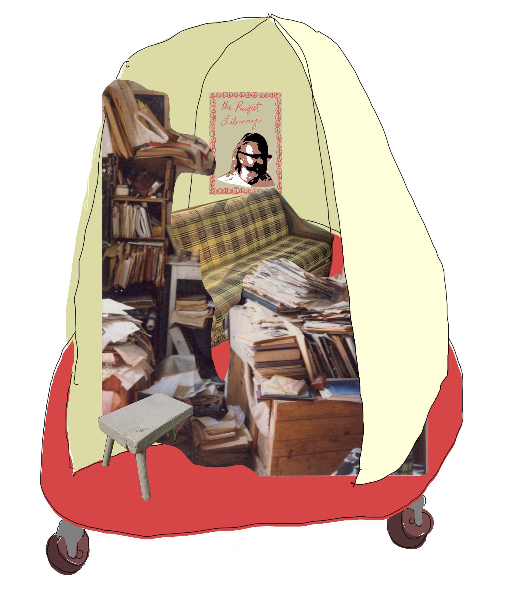 The Pacifist Library By Nathaniel Katz & Valentina Curandi