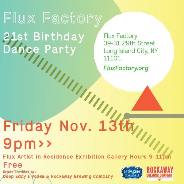 Flux A.I.R. Show Closing Dance Party & Benefit