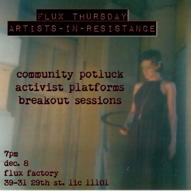 Flux Thursday : Artists-In-Resistance