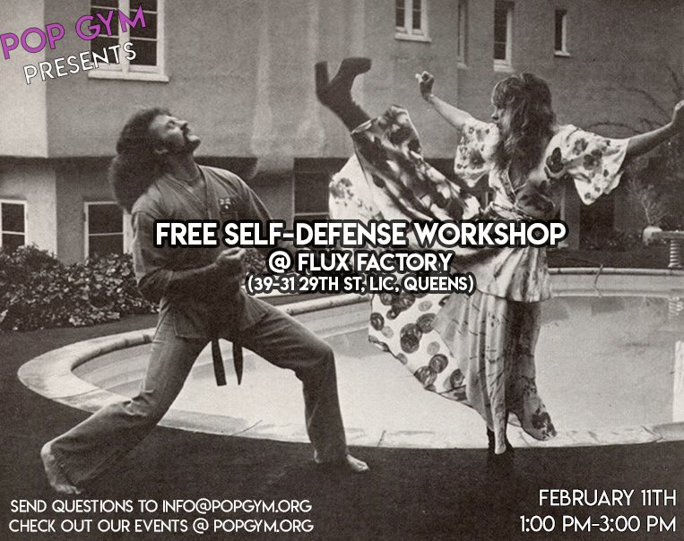 Pop Gym Pop Up: Free Self-Defense Workshop