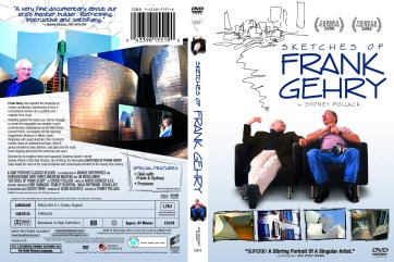 """Sketches of Frank Gehry"", 2006, DVD Amaray (unpublished design), with KustomCreative.com"