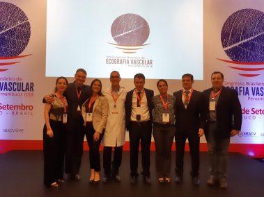 Equipe Fluxo - Curso Básico de Ecografia Vascular com Doppler - Congresso Brasileiro de Ecografia Vascular