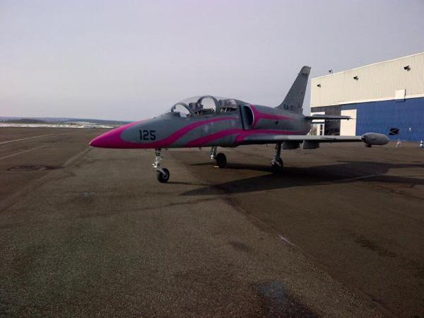 l-39 jet fighter