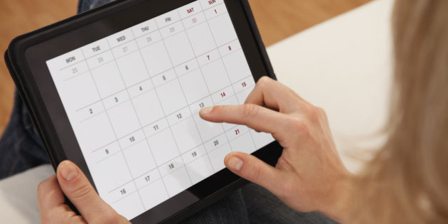 digital calendar