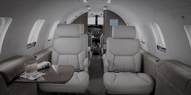 Luxurious Aircraft With Stunning Interiors
