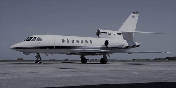 Astounding Side View Shot Of ZS-LAC On The Ramp