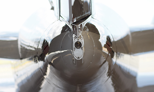 Picture Of The Tail Of A B1900D