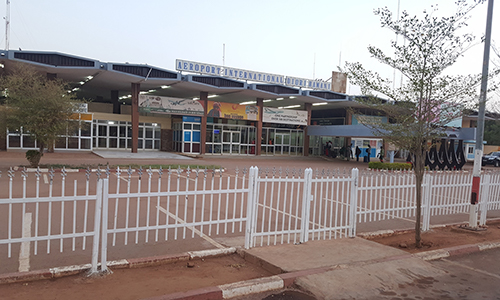 Outside View Of The Niamey Airport
