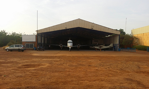 B1900 In Niamey Hangar Ready To Do A Flight