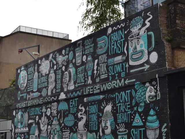Street Art Shoreditch. Propiedad de Fly and Grow©