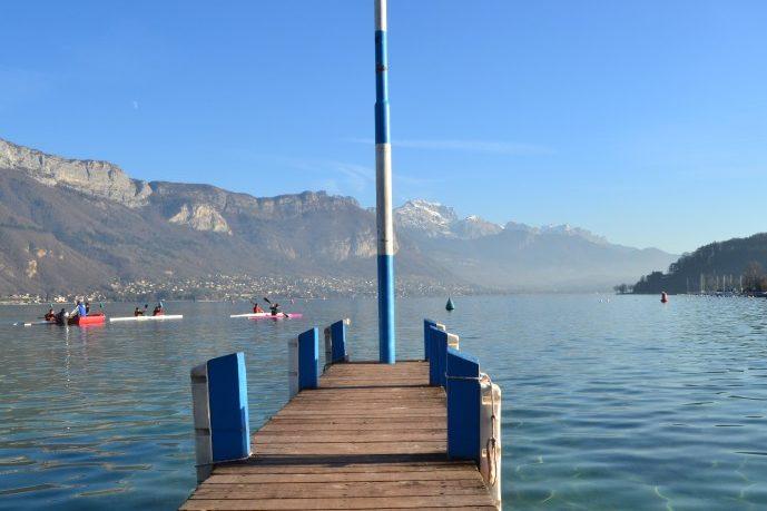 Annecy: escala en Ginebra