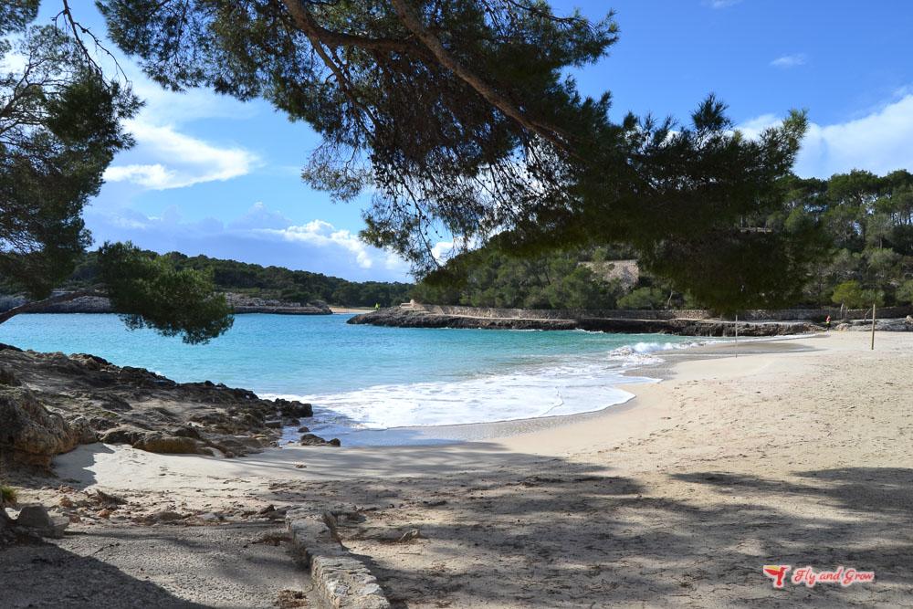 Playa del Parque Natural Mondragó