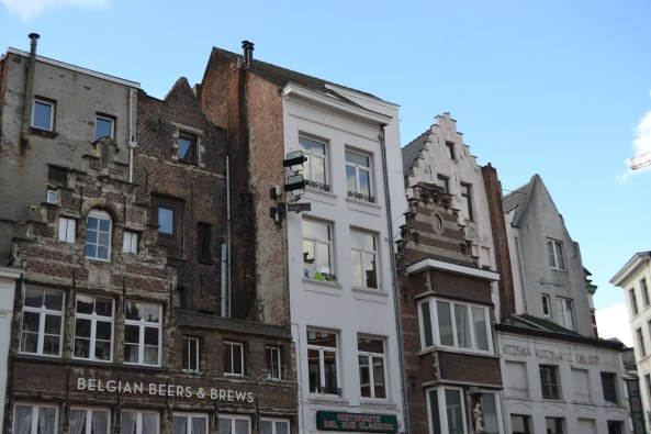 Arquitectura típica de Amberes