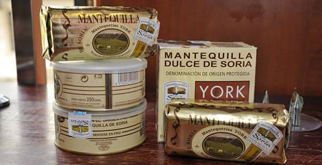 mantequilla de Soria