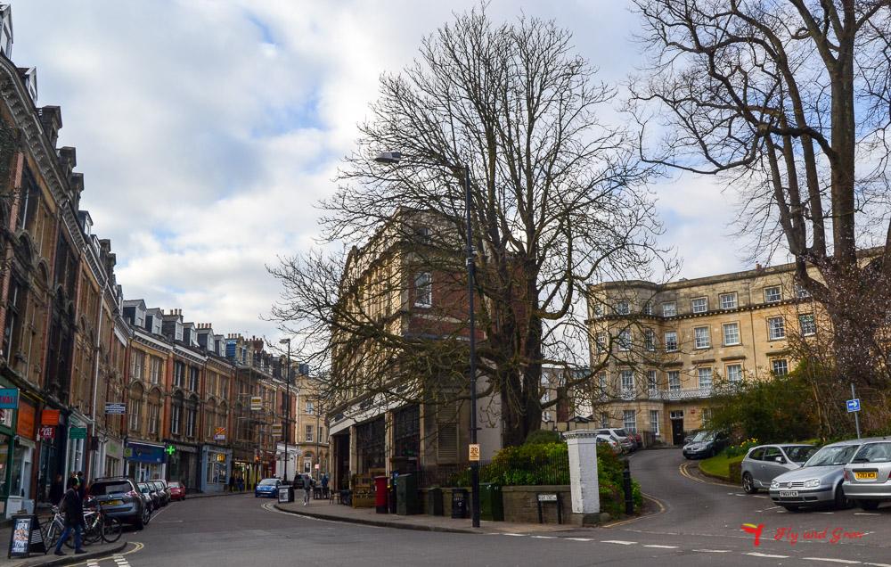 El curioso barrio de Clifton Village, en Bristol