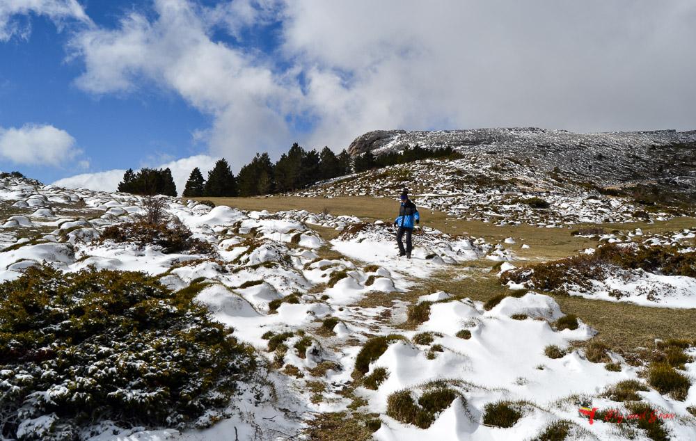 Ruta de ascensión a Peñas de Herrera. Parque del Moncayo