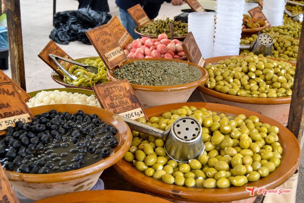 mercado de Santa Maria del Camino