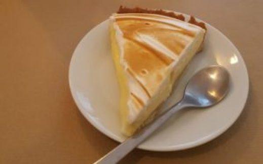 Tarta de limón Rosevelvet Bakery © Propiedad de FlyandGrow