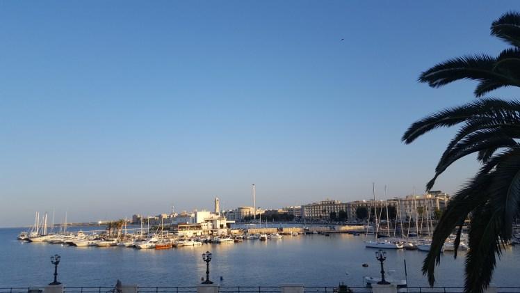 Vista del Puerto de Bari