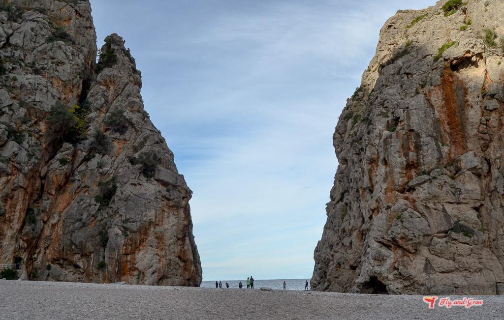 Cala La calobra en Mallorca