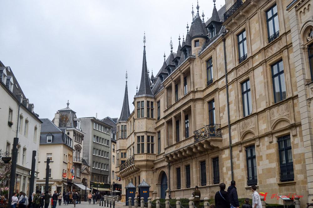 palacio ducal de Ciudad de Luxemburgo