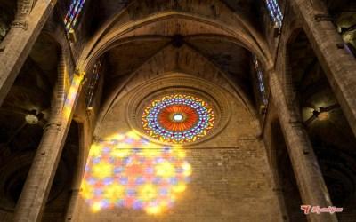 El espectáculo del ocho en la Catedral de Mallorca
