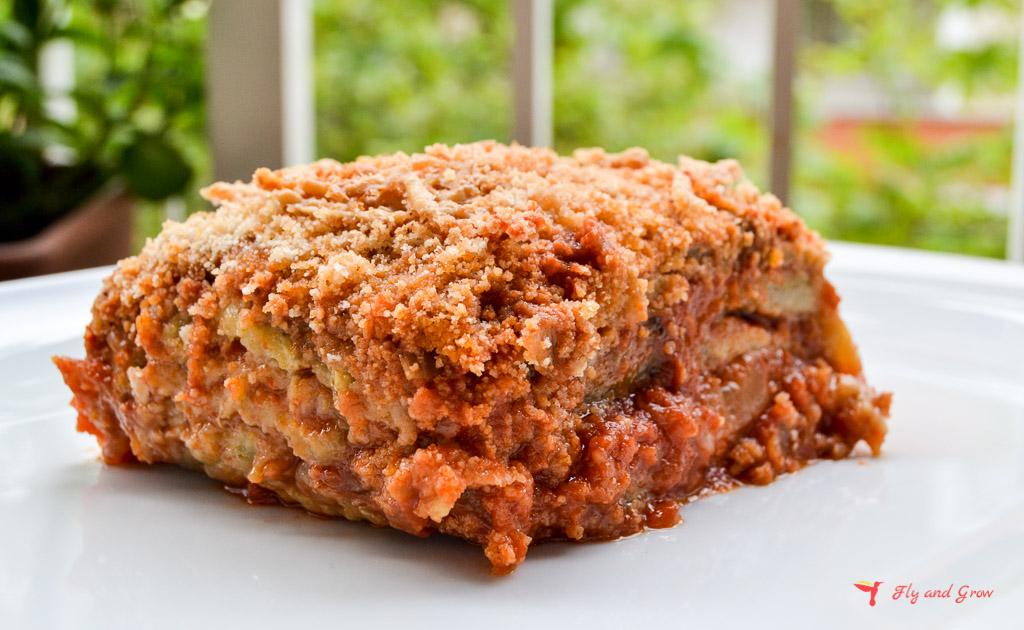 receta de parmigiana italiana original