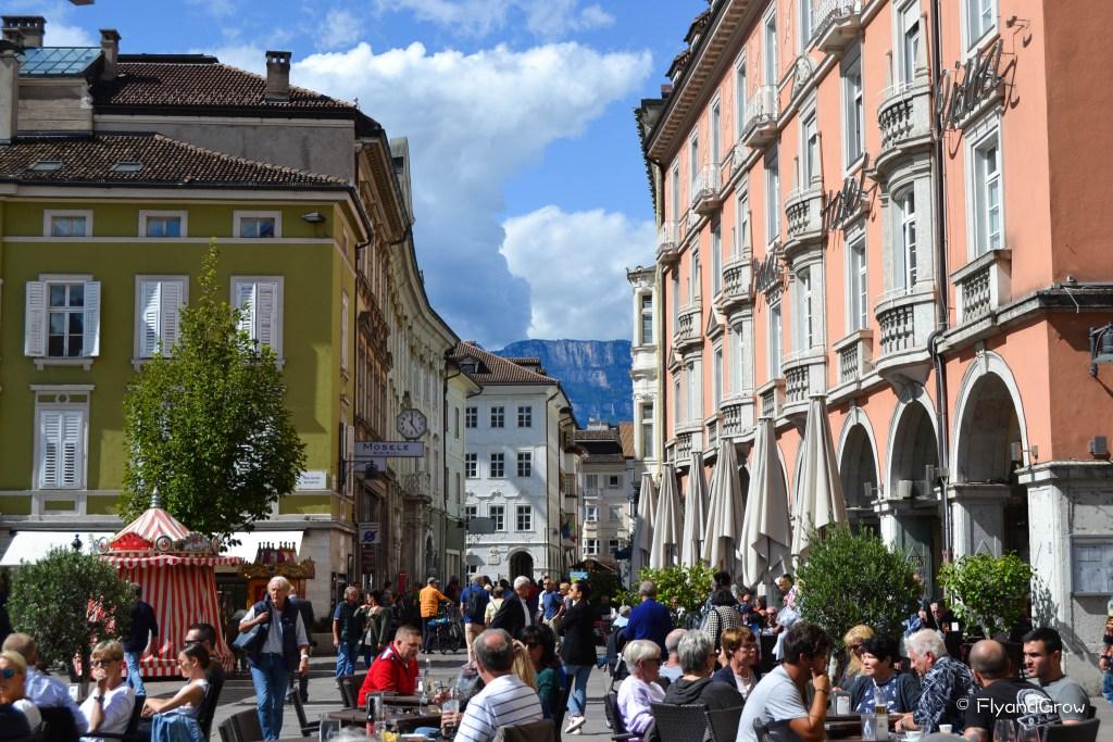 Bolzano, capital de los Dolomitas