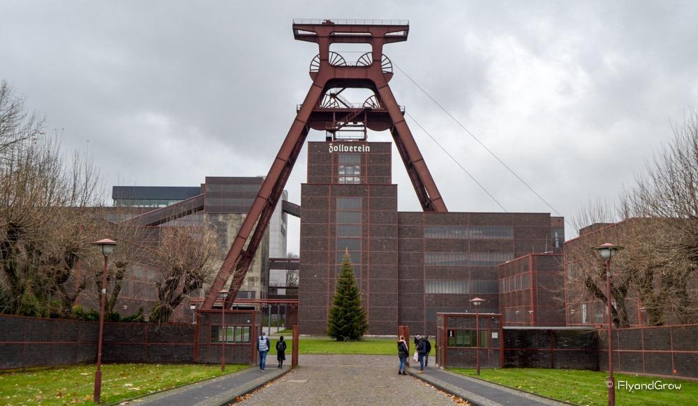 Entrada Zollverein