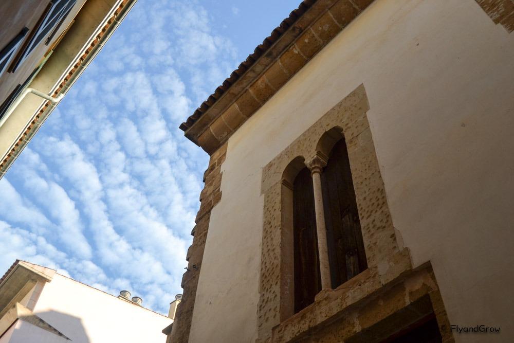 Edificio barrio judío Mallorca