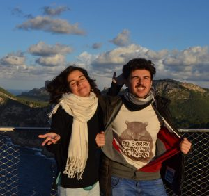 Luz y Claudio Formentor