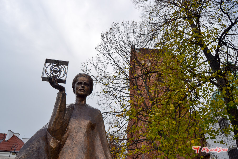 Marie Curie en Varsovia