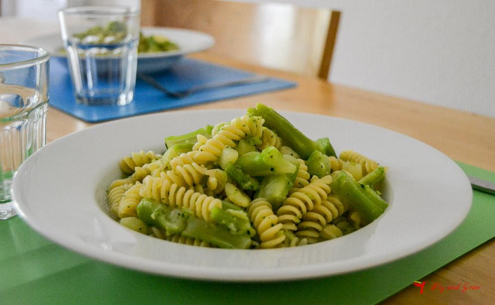 receta pasta brócoli y patata