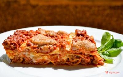 Receta de lasaña italiana clásica