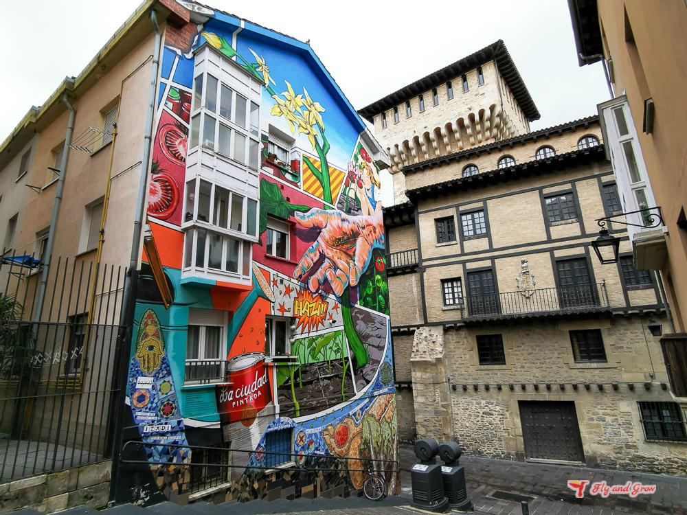 Street art en Vitoria