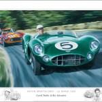 Aston Martin Dbr1 Le Mans 1959 Limited Edition Print