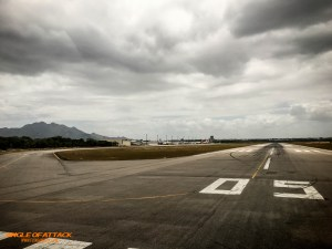 Departing Vitoria, Brazil.