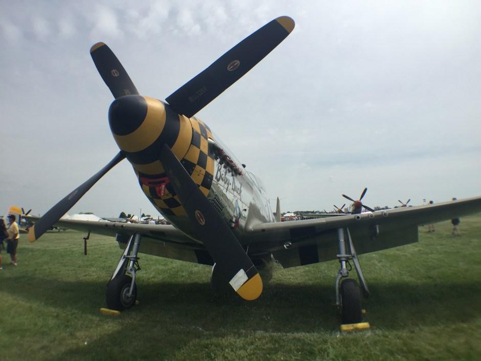 P-51 Mustang - Oshkosh Airventure