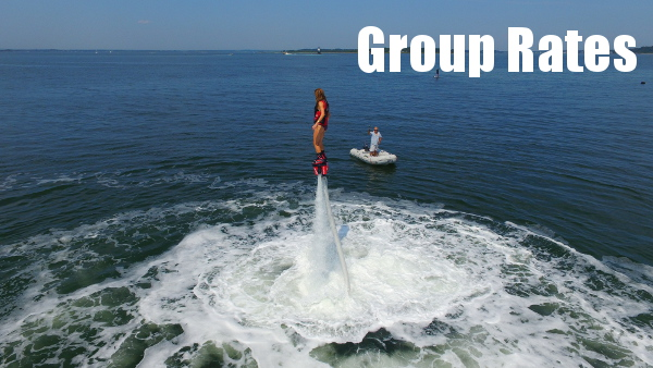 Flyboard Newport Group Rates