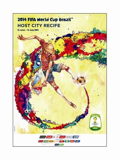 World Cup Poster Recife