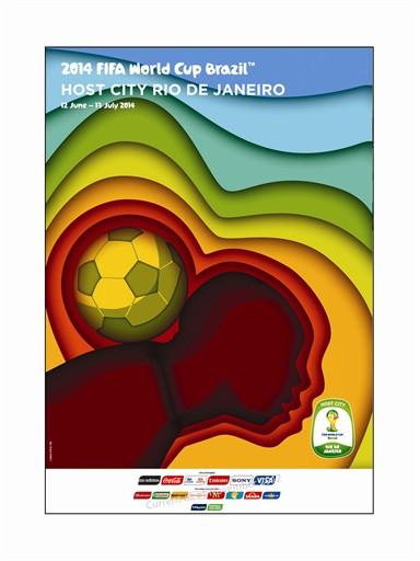 World Cup Poster Rio de Janeiro
