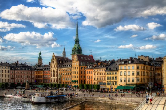 Stockholm's historic Gamla Stan. Photo courtesy of Pedro Szekely via Flickr.