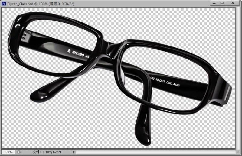 Photoshop 影像設計  - Photoshop 去背入門:菜鳥練功專用 - 使用套索工具鍛練去背基本功 - FLY-02