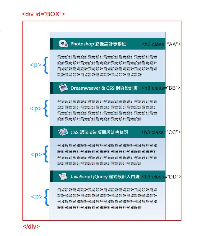 CSS 教學 - 網頁排版  - CSS 教學 - CSS Sprite 網頁優化技巧入門 - FLY-00-1