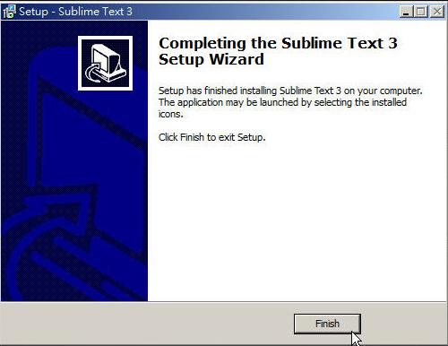 CSS 教學 - 網頁排版 Dreamweaver 網頁設計 Free Resource 好康報報 JavaScript 程式設計 RWD 響應式網頁  - 教學:Sublime Text 的安裝設定及入門操作 - [ 上篇 ] - sub-04