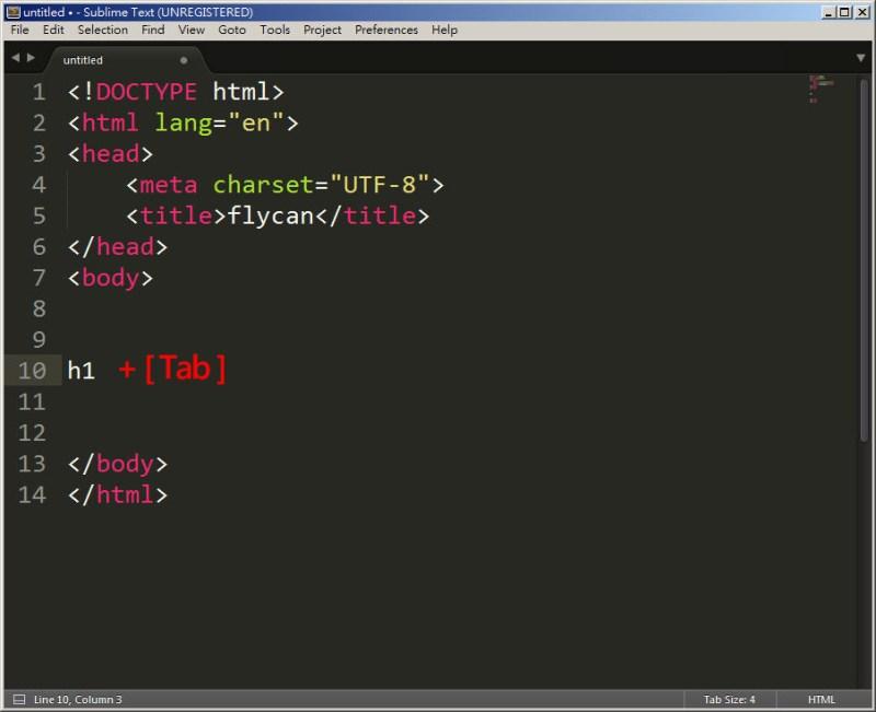 CSS 教學 - 網頁排版 Dreamweaver 網頁設計 Free Resource 好康報報 JavaScript 程式設計 RWD 響應式網頁  - 教學:Sublime Text 的安裝設定及入門操作 – [ 下篇 ] - Sub-22