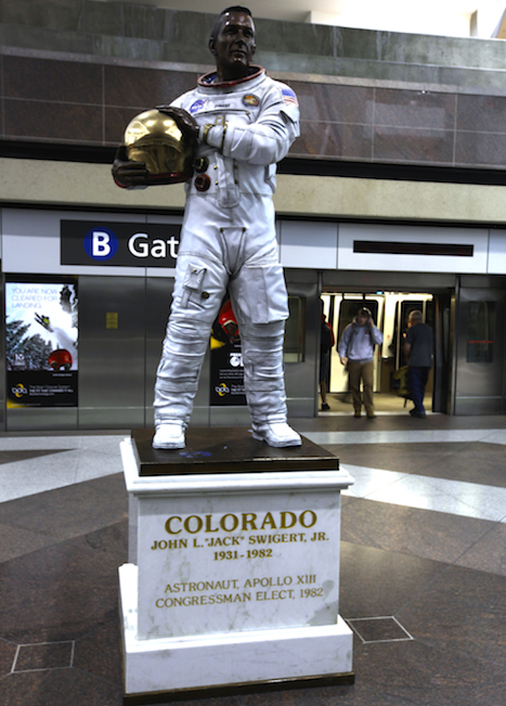 Jack Swigert Denver International Airport