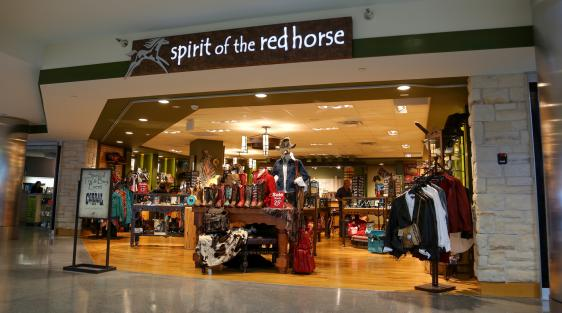 Spirit Of The Red Horse Denver International Airport