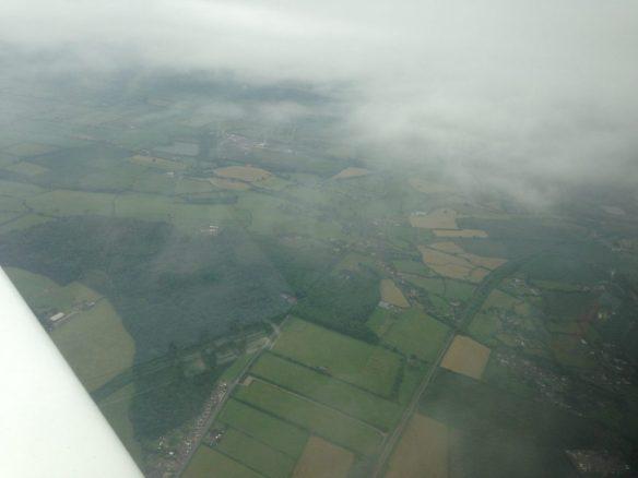 Gap in clouds